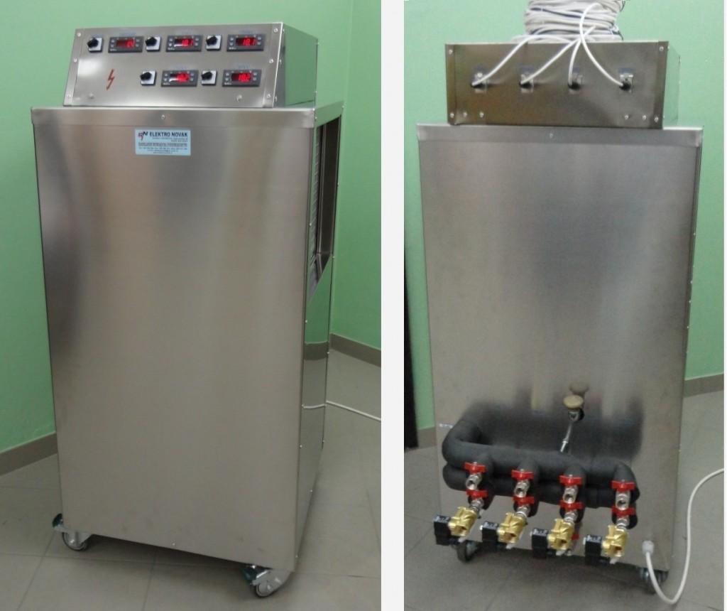 Mobilni rashladni uređaj - 4 izvoda