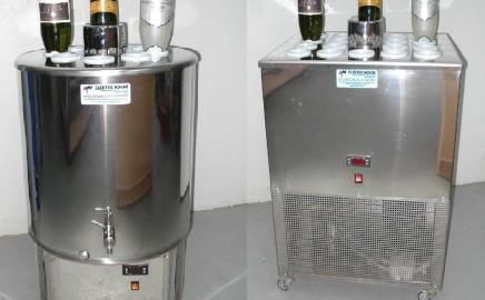 Rashladni uređaji za degoržiranje pjenušaca