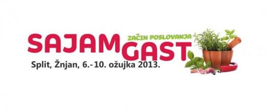 """Posjetite nas na sajmu """"GAST 2013″ u Splitu"""