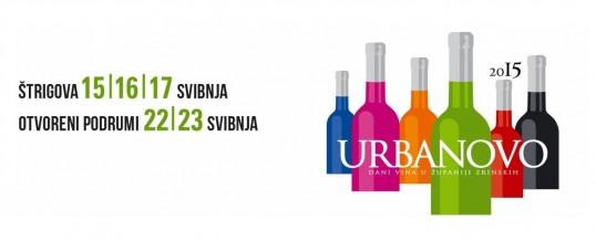 Posjetite nas na Urbanovo 2015. – Dani vina u županiji Zrinskih, 15.-23.05.2015.